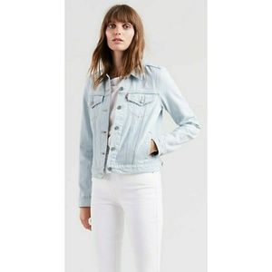 Levi's Ex Boyfriend Tucker Denim Jacket Jeans Blue